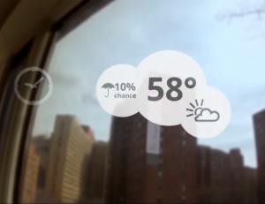 משקפי גוגל מזג אוויר