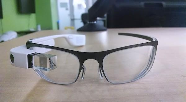משקפי מרשם עם Google Glass